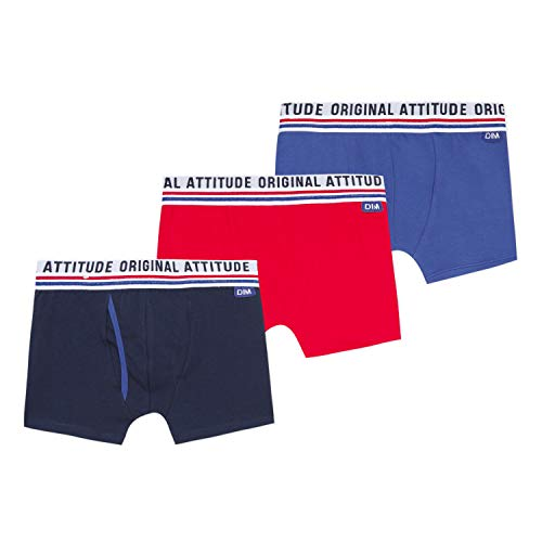 Dim Jungen Lot De 3 Boxers Unterwäsche, Matcher, 10A