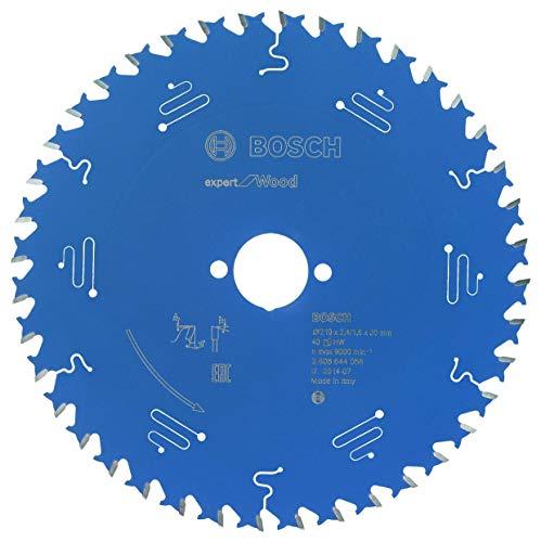 Bosch Professional Kreissägeblatt Expert für Wood (Holz, 210 x 30 x 2,4 mm, 40 Zähne, Zubehör Kreissäge)
