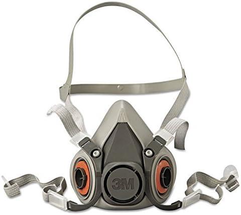 3M Safety 142 6200 6000 Series Reusable Half Face Mask Respirator Medium product image