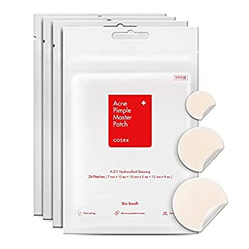 COSRX Acne Pimple Patch  96 counts  Absorbing Hydrocolloid Spot Treatment Fast Healing Blemish Cover 3 Sizes