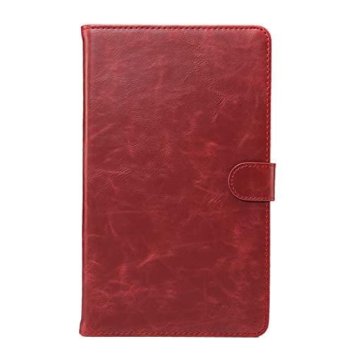 HHF Pad Accesorios para Samsung Galaxy Tab S6 10.5 T860 T865, Crazy Horse Pattern Retro Business Tablet Cubierta Titular de la Tarjeta Flip Funda de Cuero para Samsung Galaxy Tab S6 10.5 T860 T865