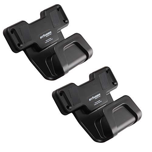 STINGER Safety Trigger Guard Protection Magnetic Gun Holder, Easy Conceal in Car, Truck, Vehicle, Desks, Safes, Walls, Handgun Rifle Shotgun Pistol Revolver, Gun Mount Rack (2 Pack)