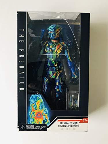 NECA Predator 2 7' Actionfigur Ther -mal Vision Fugitive Predator Material: Kunststoff, Hersteller