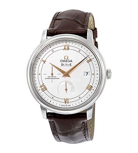 Omega De Ville Brown Leather Strap Men's Watch 424.13.40.21.02.002