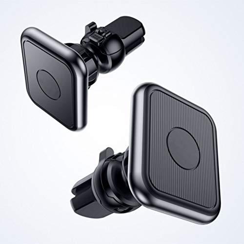 GFDFD Cargador de Coche inalámbrico de 15W Monte Imán Adsorbible Titular de automóviles Carteles inalámbricos rápidos