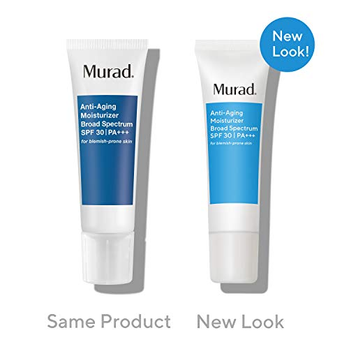 41 4MpP0KLL - Murad Anti-Aging Moisturizer Broad Spectrum SPF 30 (UPDATED PACKAGING) | Grease-Free Face Moisturizer for Women & Men - Anti-Aging Face Cream with SPF, 1.7 Fl Oz
