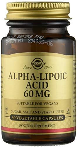 Solgar Lipomag Integratore Alimentare a Base di Acido Alfa Lipoico - 30 Capsule Vegetali