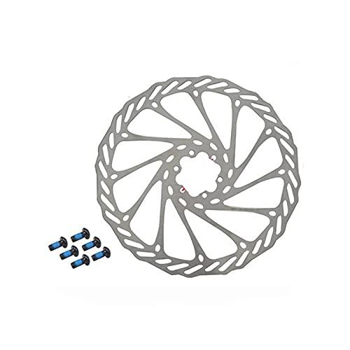 Wnuanjun 1SET G3 MTB Discos de Bicicleta Rotor de Freno de Acero Inoxidable 6 Pernos De Frenos Discos 160 mm 180 mm 203mm Bici de Carretera Disc-Freno para Shimano Sram Pieza (tamaño : 1 PC 160MM)