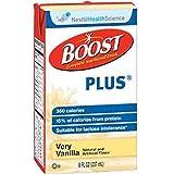 Boost Plus Very Vanilla 8oz Brikpaks 27/Case *** 4 CASE SPECIAL***