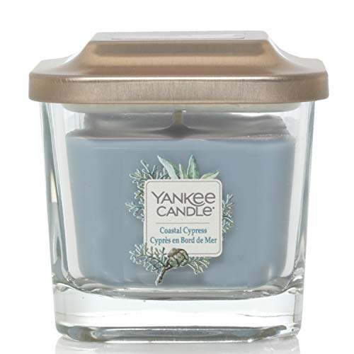 Yankee Candle Elevation Collection piattaforma con coperchio piccolo con stoppini, candela quadrato,: CIPRO