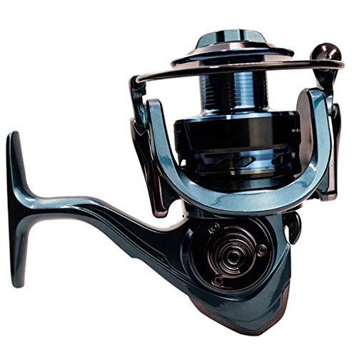 Carrete de Pesca Carrete de Pesca 14 + 1 BB Treolle Doble de Spinning 5.5: 1 Relación Engranaje Rollar de Hilado de Alta Velocidad Carretes de Pesca de Carpa Super Suave ( tamaño : 6000 Series )