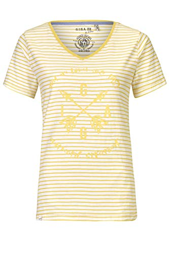 G.I.G.A DX Merala T-Shirt décontracté Femme, Jaune Soleil, FR : 2XL (Taille Fabricant : 46)