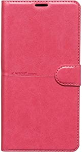 Kaiyue Flip Leather Full Cover for Samsung Galaxy A10S - Pink