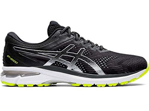 ASICS Men's GT-2000 8 Lite-Show Running Shoes, 9.5M, Black/Pure Silver thumbnail