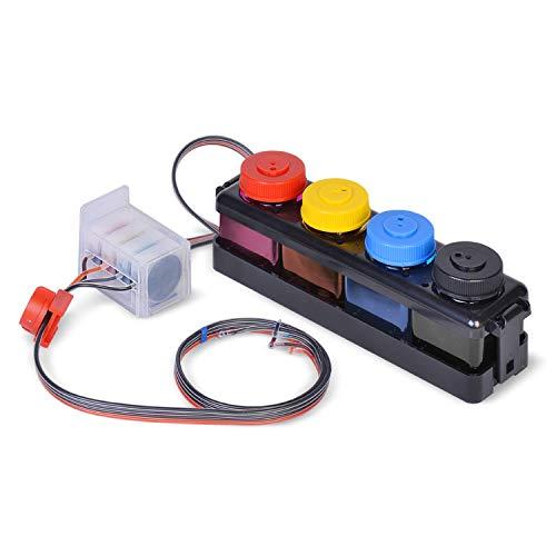 Find Discount Wonderink CISS DIY 300ml Compatible with HP61 ENVY4500 ENVY4501 4502 ENVY4503 4505 ENV...