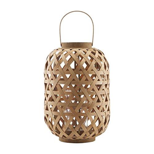 BOIS DESSUS BOIS DESSOUS Lanterne en Bambou 45 cm