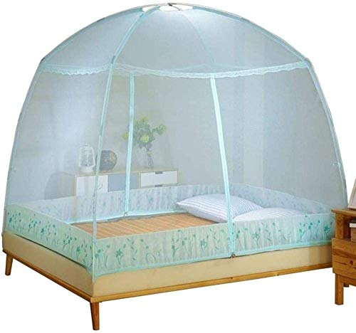 Kyman Mosquito Pliant Filets Foldedable Camping moustiquaire Moustiquaires Universal Chambre Home Textile Out Door Supplies-Medium_Pink (Color : Green, Size : XLarge)