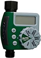 Orbit 62061Z Single-Outlet Hose Watering Timer, 1, Green