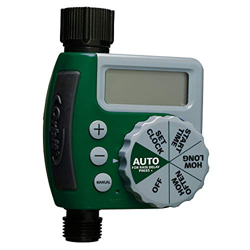Orbit Temporizador de rega de mangueira de saída única 62061Z, 1, verde