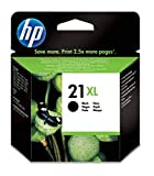 HP 21XL - Cartucho de tinta Original HP 21XL de álta capacidad, color negro