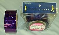 ホログラムメッキテープ パープル