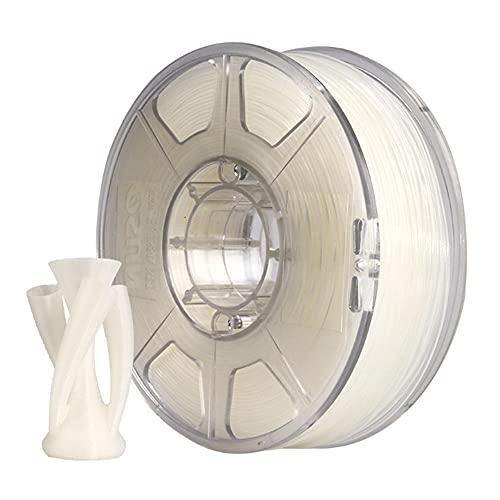 Filamento de nylon 1.75 mm o 2.85 mm Impresora 3D PA6 Filamento Exactitud +/- 0.05mm 1kg 2.2lbs carrete (350 metros) Filamento de impresión 3D para...