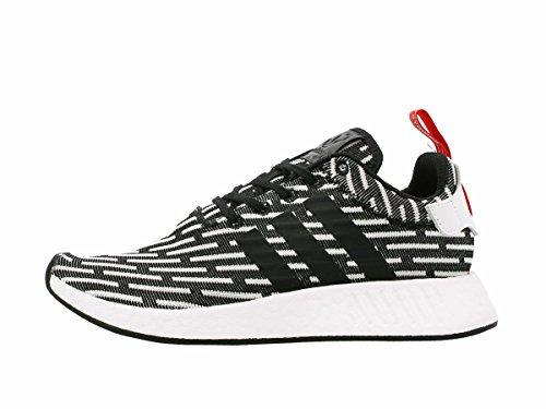 escanear Zoológico de noche lona  adidas Original NMD R2 Primeknit PK Core Black White Zebra Men US Size 11-  Buy Online in Guadeloupe at Desertcart