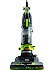 Bissell Bisssell Powerforce Helix Turbo Rewind Upright Vacuum Cleaner,2261E, Green