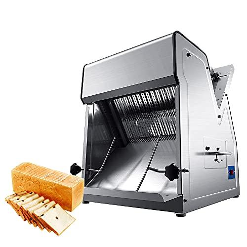 KOOWARM Kommerzielle Brotschneidemaschine Elektrische Automatik Toasthobel Industrielle Brotschneidemaschine automatisch Breite 13-38cm Bis zu 31 Scheiben können gleichzeitig geschnitten Werden