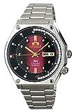 ORIENT Sports SK Retro anni '70 orologio automatico in acciaio con quadrante rosso RA-AA0B02R