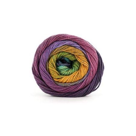 303 ocker//brombeer//umbra 100 g Wolle Kreativ Lana Grossa Fb Gomitolo Aloha
