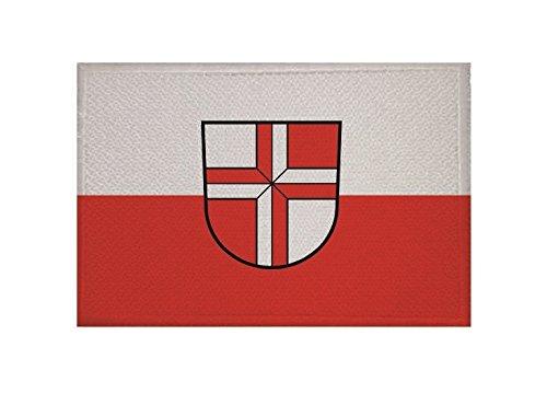 U24 Aufnäher Stetten am kalten Markt Fahne Flagge Aufbügler Patch 9 x 6 cm