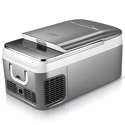 OutingStarcase Eléctrico de CC/CA caliente o frío fresco caja portátil grande Capacit doble uso del compresor del congelador de refrigerador del coche de refrigerador for viajar y camping