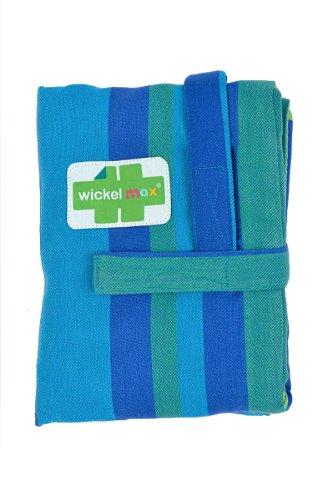HOPPEDIZ Wickelmax - Dein Wickeltisch für unterwegs - Design Curacao