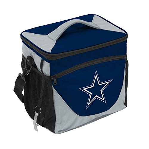 NFL Logo Brands Dallas Cowboys 24 Can Cooler, Team Color