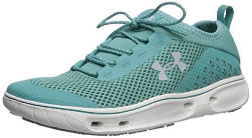 Under Armour Women's Kilchis Sneaker, Azure Teal (301)/Onyx White, 11