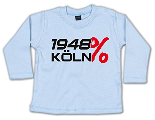 G-graphics 1948% Köln Baby Sweatshirt 268.0270 (3-6 Monate, blau)