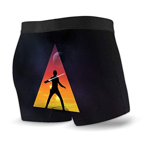 Darth Vader Stormtrooper Star Wars Herren Boxershorts Mikrofaser Soft Stretch Boxer Briefs Custom Made Gr. X-Large, Schwarz