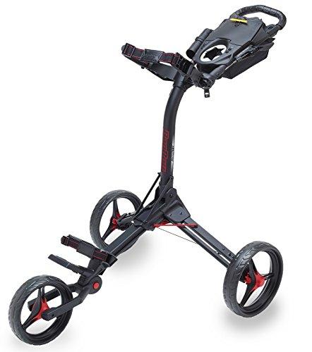 Bag Boy C3BagBoy KOMPAKT 3Trolley One Size matt Black/red