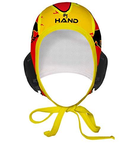 HAND SPORT Cuffia da Pallanuoto,Calottina Pallanuoto, MOD. Spagna Professional, Unisex.