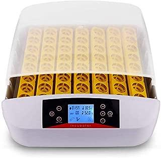 Incubadora Automática de 56 Huevos con Pantalla Digital Iluminación LED y Control Eficiente e Inteligente de Temperatura