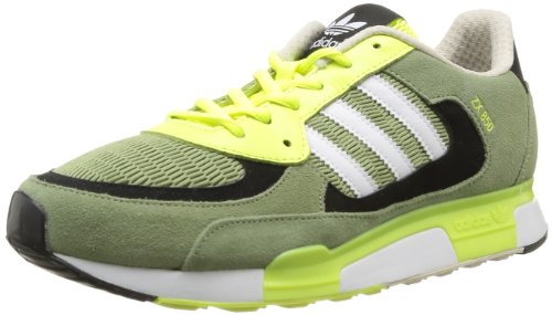 adidas ZX 850 Sneaker Herren Grün (ST TENT GREEN S14 / RUNNING WHITE FTW / ELECTRICITY) 40