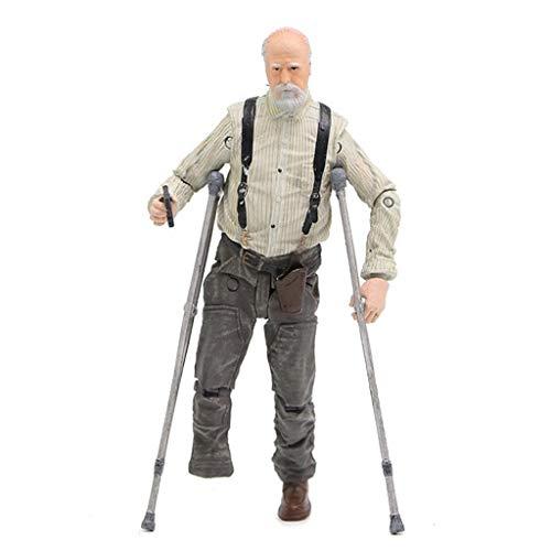 YYBB TV: The Walking Dead -Hershel Greene Vinyl Figure e Personaggi Exquisite Box Collection Vetrina Decorativi Giocattoli Popolari Action Figure 5 Pollici Figurines