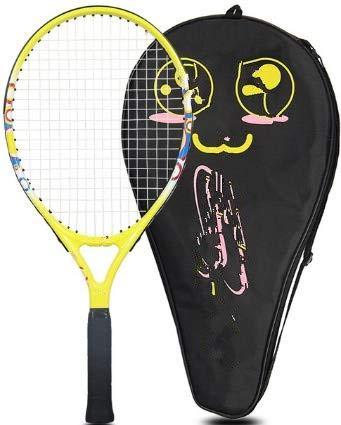 Raqueta de Tenis para niños, Estudiantes de Primaria y Secundaria, Principiantes, artículos completos para niños, 21 Pulgadas