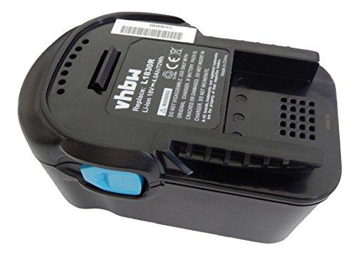 vhbw Batería reemplaza Würth 0700956530 para herramientas eléctricas (4000mAh Li-Ion 18V)