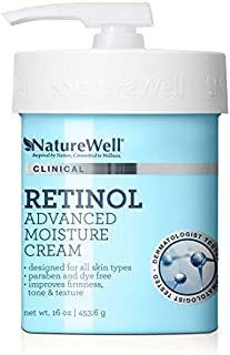NatureWell Clinical Retinol Advanced Moisture Care Cream, 16. oz.