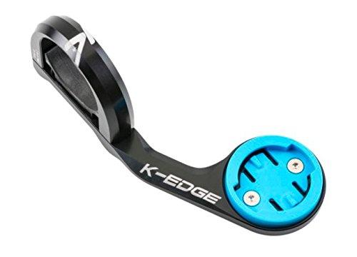 K-EDGE Unisex– Erwachsene K13-1611 Wahoo Bolt Sport Mount Halterungen, Black Anodize, One Size
