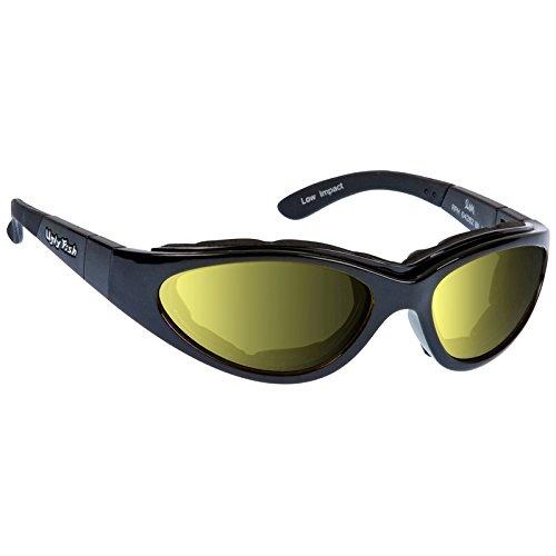 Ugly Fish Motorradsonnenbrille Slim Photochromic Yellow