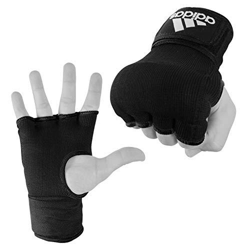 adidas Super Inner Glove Guantes Interiores, Unisex Adulto, Negro/Blanco, Large
