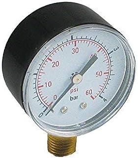 CMP Pressure Gauge 0-60 PSI for Pentair and Hayward Pool Filters Bottom Mount